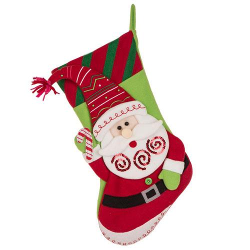 Christmas sock ornament