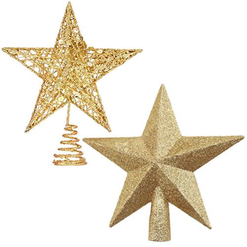 Two Christmas stars ornament