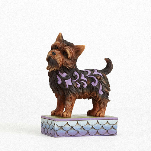 Little dog figurine