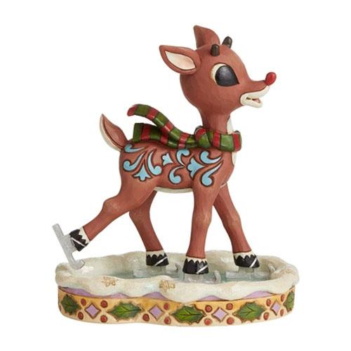 Heartwood Creek Rudolph figurine