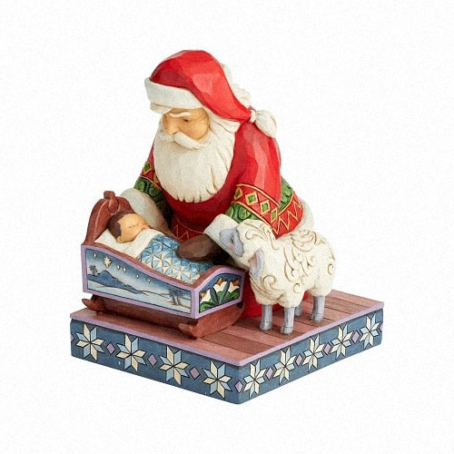 Heartwood Creek Santa figurine