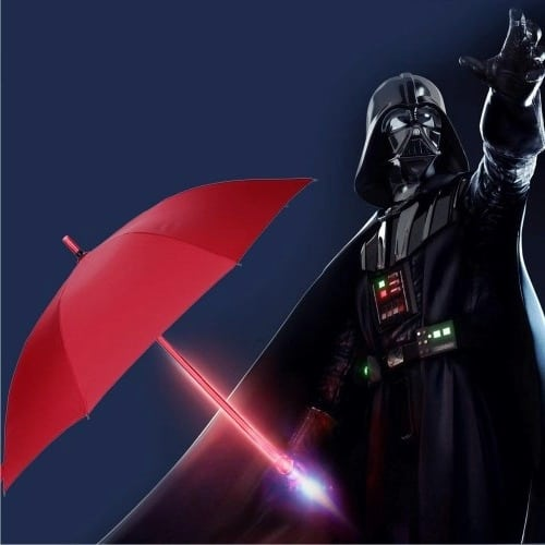 LED Lightsaber Umbrella